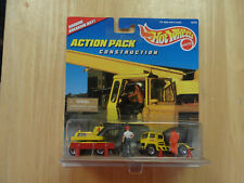 Hot Wheels Construction Action Pack 1996 New