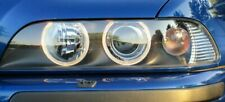 BMW Hella OEM E39 5 Series 1997-2000 HALO White Euro Halogen Headlamps Brand New