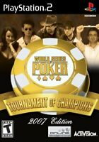 World Series of Poker Tournament of Champions PlayStation 2
