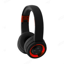 Portable Sports Bluetooth Headsets Heavy Bass Audio Stereo Headphone On Ear