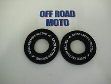 Apico Factory Racing Manillar Grip Donuts/donutz. sin ampollas! Easy Fit Negro