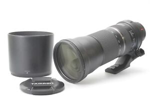 Tamron SP 150-600mm F/5-6.3 Di VC USD Lens for Canon - With Hood and Lens Caps