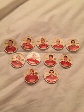 11 COIN LOT 1961 1962 SHIRRIFF SALADA RED WINGS JUNKET NHL