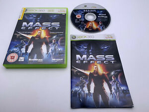 Video Game💎🌟Xbox 360 Mass Effect - PAL🌟💎Box & Manual Included