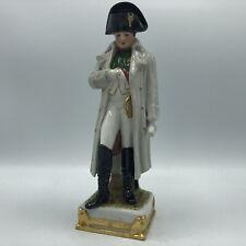 """Vintage Scheibe Alsbach Porcelain Napoleon Figurine Statue GDR 9.5"""""""