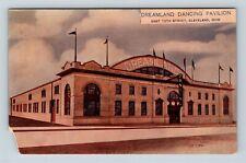 Cleveland OH, Dreamland Dancing Pavilion, Vintage Ohio Postcard X62