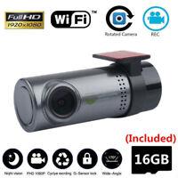 Car Camera DVR Hidden Wifi Dash Cams Camcorder Motion Detection With SD Card