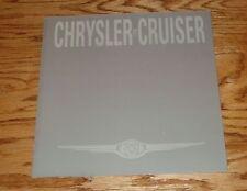Original 1999 Chrysler PT Cruiser Sales Brochure 99