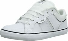 DVS Shoes Barton white leather weiss Skate BMX MX NEUWARE Gr. 42,5 - 47