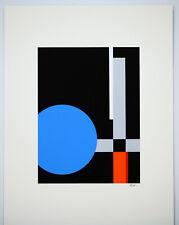 Dexel Walter Bauhaus handsigniert und nummeriert Serigr. in 6 Farben