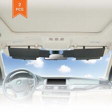 Car Visor Window Windshield Sunshade Extender Anti-Glare UV Blocker 2pcs TFY