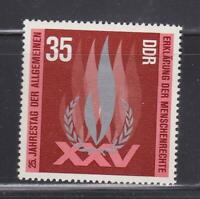 DDR42  - EAST GERMANY DDR 1973 DECLARATION OF HUMAN RIGHTS MNH