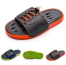 Summer Mens Beach Slippers Shoes Cut out Slingbacks Sports Non-slip Flats New B