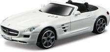 Mercedes-Benz Sls Amg Roadster Bianco APERTI SCALA 1:43 VON BBURAGO