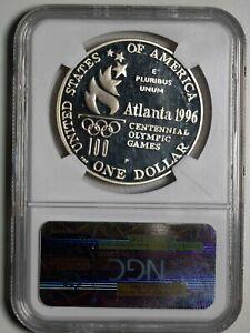 1996 P NGC PF69 Ultra Cameo Paralympics Commemorative Silver Dollar Item#P13677