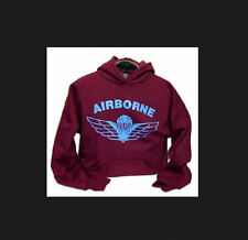 Canadian Airborne Parawings Para wings Parachutists Hooded Sweatshirt