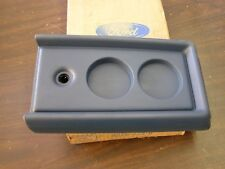 NOS OEM Ford 1984 1988 Bronco 2 II Console Lid 1985 1986 1987 Blue Interior