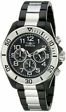 New Invicta 18222 Mens Pro Diver Chronograph Two Tone Bracelet Watch