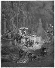 Gustave Dore gigantón Pantagruel 044 A4 Foto impresión