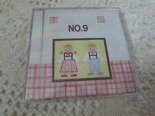 Emb Card 9 CROSS STITCH Bernette Deco Brother Babylock Simplicity NEW/TEMPLATES