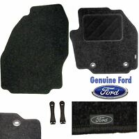 Ford Galaxy 2006 on MPV Black Carpet Front Mats Genuine OE New Car Floor