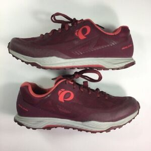 Pearl Izumi Women X-Alp Canyon Cycling Shoes Burgundy 15201803 Low Top 9 M