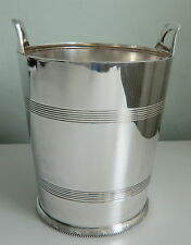 SHEFFIELD Silver Plated Wine Cooler