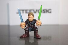 Star Wars Galactic Heroes  Rare Anakin Skywalker Clear Dual Light Saber