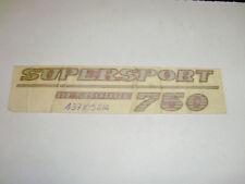 ADESIVO - DECALCOMANIA DUCATI SUPERSPORT 750 -- 43710521A