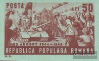 Rumänien 1191B (kompl.Ausg.) postfrisch 1949 Sturz der faschistischen Regierung