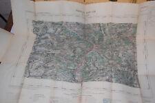 CartesHachette 1923, ministère de l'intérieur 1/100 000  Briançon
