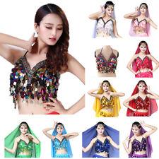 2efb4d19b4 In UK Sequin Tassel Mermaid Mirror Body Chains Harness Bralette Bralet Crop  Tops
