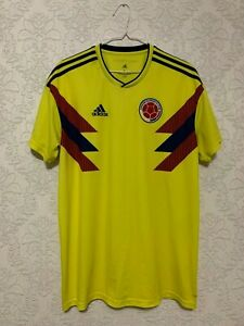 COLOMBIA 2018/2019 HOME FOOTBALL SOCCER SHIRT JERSEY CAMISETA ADIDAS MAGLIA XL