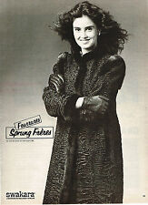 PUBLICITE ADVERTISING 044  1982  SPRUNG FRERES  fourrures
