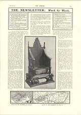 1902 Coronation Chair Processions Map Ascot Winners Rock Sand Ice Maiden