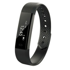 Pedometers Step Tracker Bluetooth Sleep Monitor walking Fitness Wristband