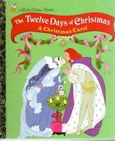 Little Golden Book - The Twelve Days of Christmas pics by Sheilah Beckett