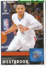 281 RUSSELL WESTBROOK OKLAHOMA CITY THUNDER STICKER NBA BASKETBALL 2017 PANINI
