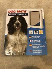 Dog Mate 215W Medium Pet Door Flap - White