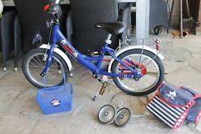 Puky Kinderfahrrad ZL 16 Kinderrad Fahrrad 16 Zoll ab 3 Jahre Capt`n Sharky