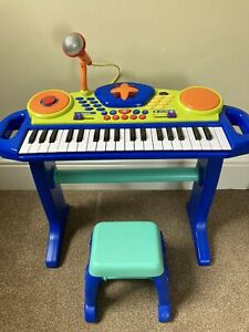 Child's Toddler Keyboard, Kids Keyboard With Chair