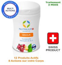 NUTRILIUM Minceur - 12 produits Actifs ! Traitement 3 mois