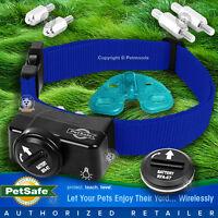 PetSafe PIF-275-19 Wireless Fence Dog Collar Receiver PIF-300 Blue Strap