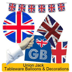 Great Britain UNION JACK Royal Wedding Party - Tableware & Decorations - Team GB
