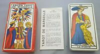 Editions Atlas Ancien Tarot of Marseilles 1980 Made in France 78 cards + book