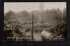 Bristol - Peace Day Celebration - real photographic postcard