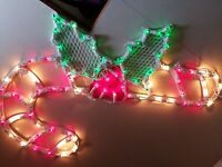 Indoor/outdoor Hanging Christmas Candy Cane
