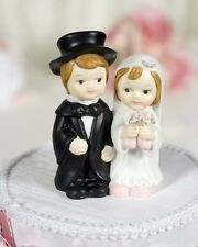 Cute Child Couple Wedding Cake Topper Figurine