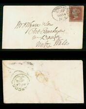 Mayfairstamps Great Britain 1854 Liverpool N5 Penny Red to North Wales Cover wwf