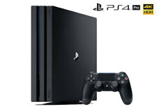 1TB Sony PS4 Pro Version Console NEW Playstation 4 Video Entertainment jet black